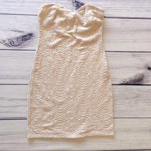 UO Strapless Mini Dress